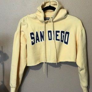San Diego Cropped hoodie